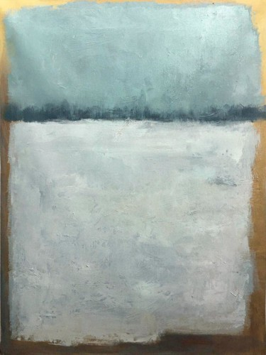 """Painting titled """"Abstract 037"""" by Yakir Zendo, Original Art, Oil"""