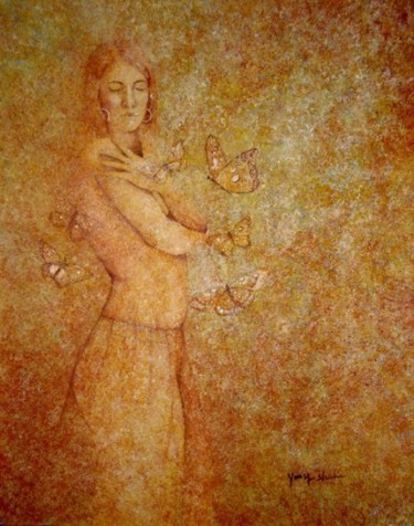 Painting, oil, artwork by Yousuf Sheikh