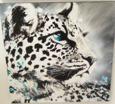 """Painting titled """"YC-panth02"""" by Yvette Coly, Original Art, Acrylic"""