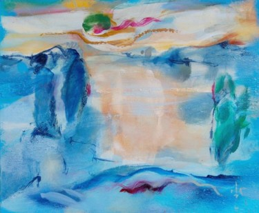 """Painting titled """"4 Lithuanian sunset…"""" by Ilgvars Zalans, Original Art,"""