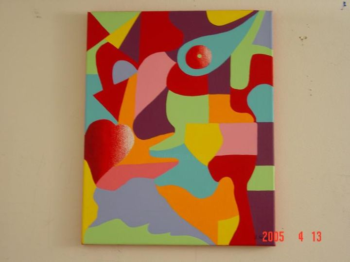 """Painting titled """"The hunger for love"""" by Shakhan Railey, Original Art,"""