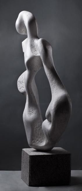 """Sculpture titled """"""""Wind"""""""" by Tanev, Original Art, Stone"""