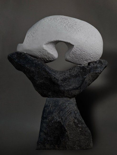 """Sculpture titled """"""""Harmony"""""""" by Tanev, Original Art, Stone"""