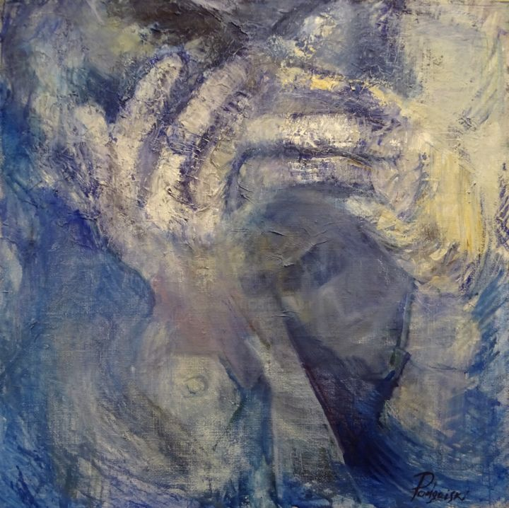 """Painting titled """"Emotions"""" by Arnolds Podgaiskis, Original Art, Oil"""