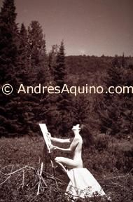 """Photography titled """"The artist"""" by Andres Aquino, Original Art,"""