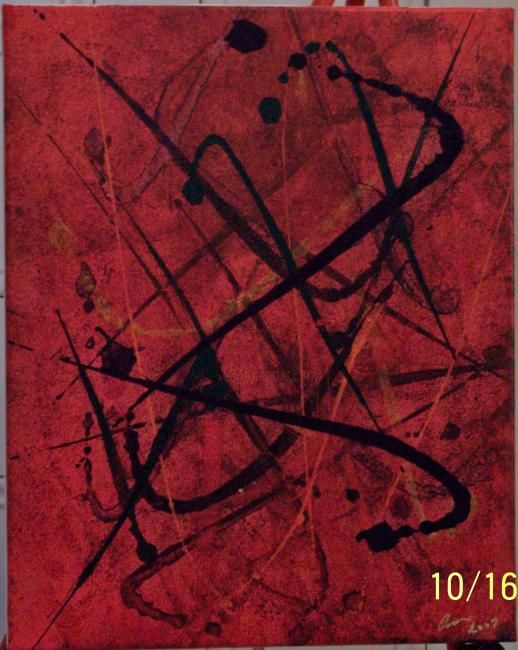 The Second Saturday Art Walk - Painting ©2007 by Paganson -