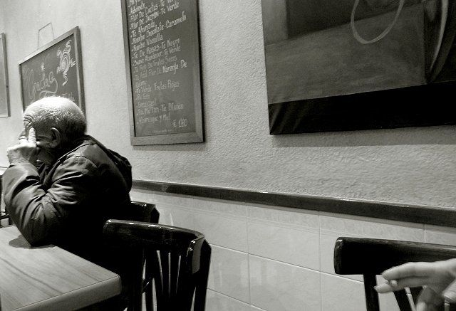 cafe solo - Photography ©2010 by Ariane Canta-Brejnik -