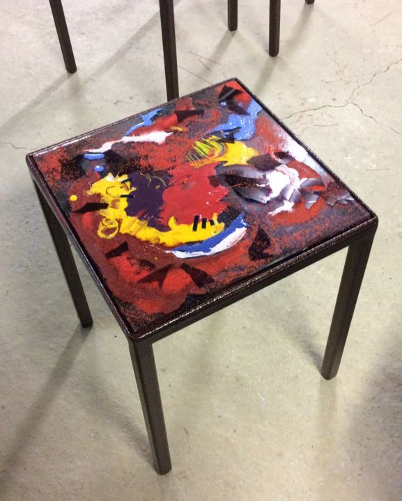 """Design titled """"table d'appoint"""" by Actis-Datta Di Carasco, Original Art, Accessories"""