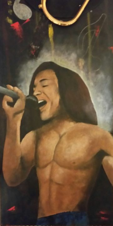 Terence Trent D Arby Pittura Da Adelinercx Artmajeur
