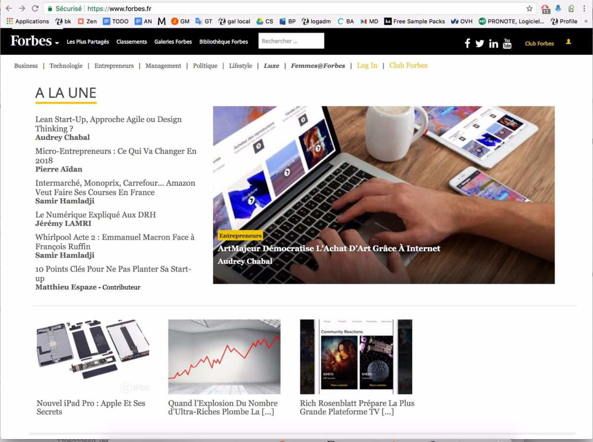 forbes-home-page.jpg Artmajeur on Forbes Home page