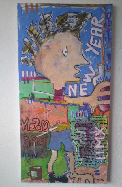 50 x 100 cm - ©2010 by Anonymous Artist