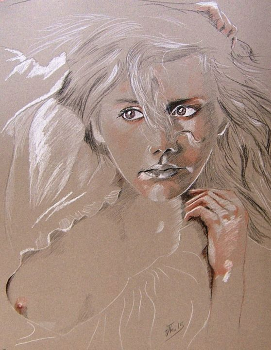"""Drawing titled """"10-03-2015."""" by Adtheo, Original Art,"""