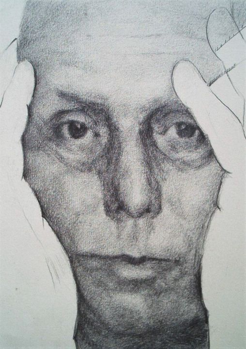 """Drawing titled """"MAX ERNST"""" by Vale Ovchinnikov, Original Art, Pencil"""