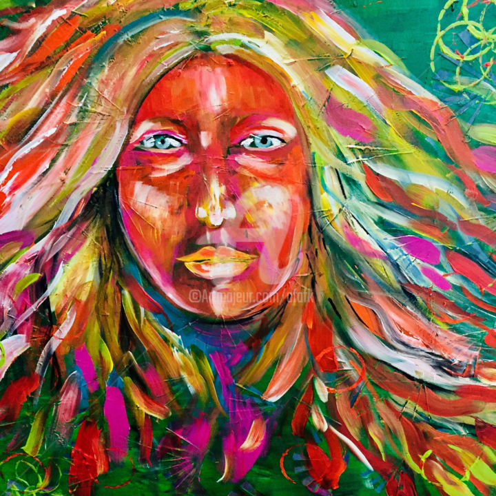 Colors Of Beauty Painting By Afaf Artmajeur
