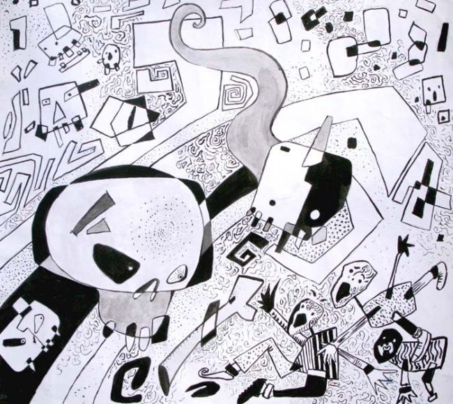 Drawing ©2007 by Afif AF -  Drawing