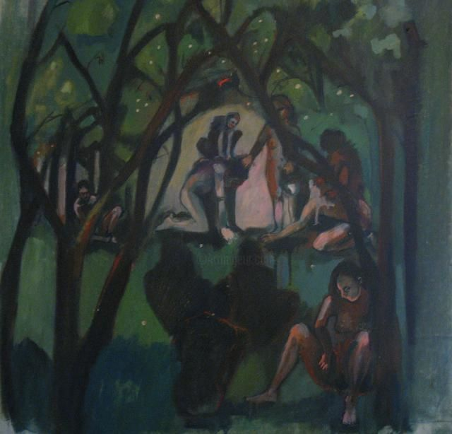 Painting ©2012 by Emilie Lagarde -  Painting