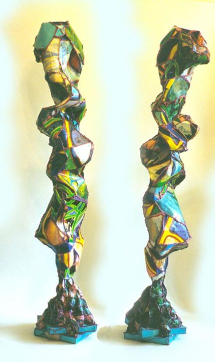 """Sculpture titled """"SummerTime Equinox…"""" by Nicole Aimiee Macaluso, Original Art,"""