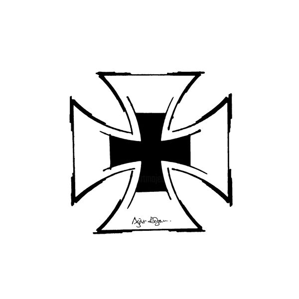 Iron Cross Tattoo Design Croix De Fer Conception De Tatouage