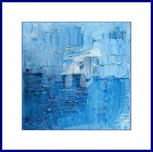 Painting,  10 x 10 cm ©2012 by A.JOLY -  Painting