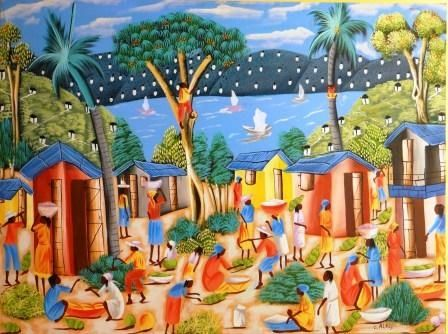 Paysage Painting By Alaby Artmajeur