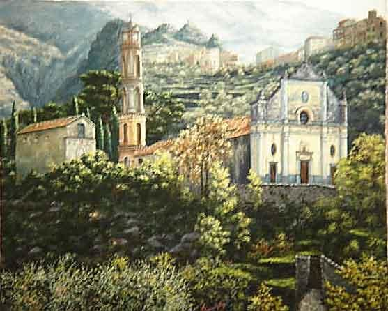 felicetto - Painting,  55x46 cm ©2004 by Alain Benedetto -