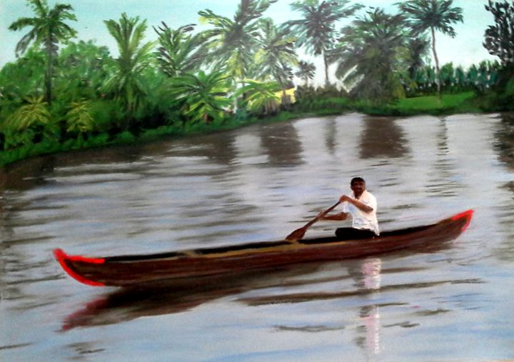 backwaters .jpg pastel - ©   Online Artworks