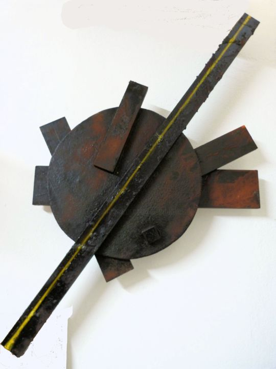 alberto simoes de almeida_22_83x58x8_2015 - Sculpture,  83x8x58 cm ©2015 by alberto simões de almeida -                                                                                                Abstract Art, Conceptual Art, Minimalism, Wood, Abstract Art, Geometric, sculpture, wood, abstract, conceptual, minimalism, geometric