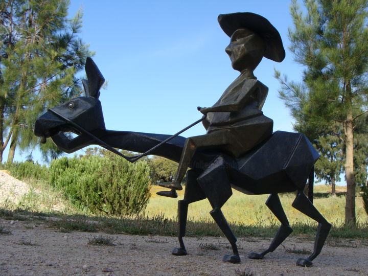 Sancho Panza - ©  cervantes, don quijote, moinhos Online Artworks