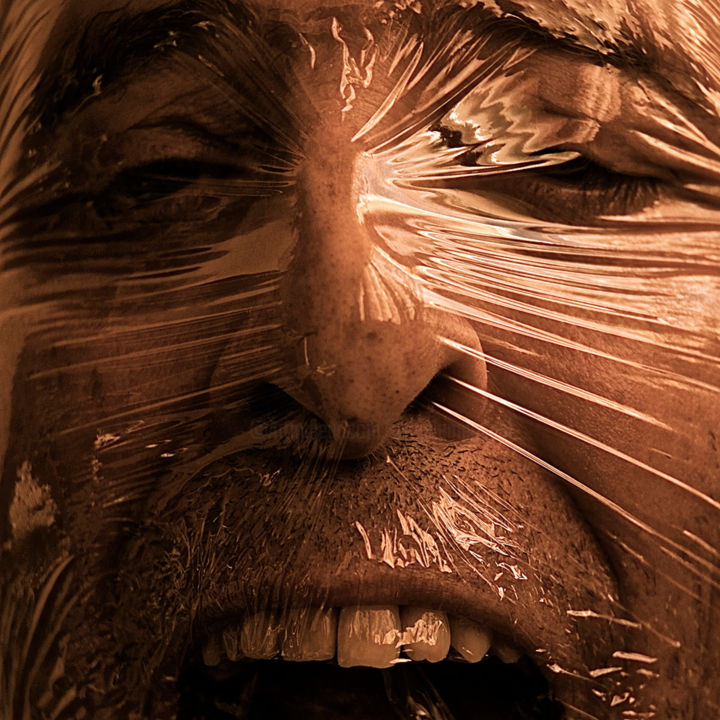 IDENTIDAD 3.jpg - Photography,  39.4x39.4 in, ©2014 by Manuel Alcaide Mengual -                                                                                                                                                                          Expressionism, expressionism-591, Portraits