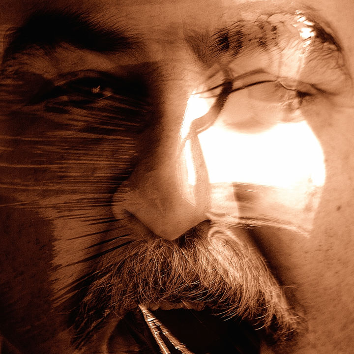 IDENTIDAD 14.jpg - Photography,  39.4x39.4 in, ©2014 by Manuel Alcaide Mengual -                                                                                                                                                                          Expressionism, expressionism-591, Portraits