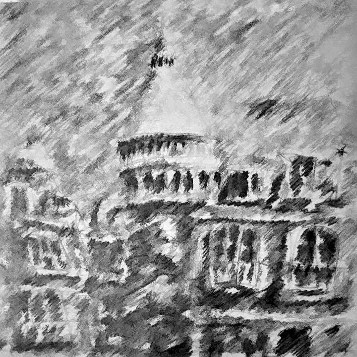 """Painting titled """"Monmartre"""" by Aldeca, Original Art,"""