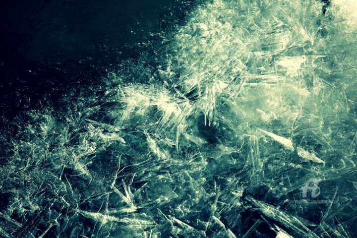 """Photography titled """"Ice v2"""" by Alen Gurovic, Original Art, Non Manipulated Photography"""