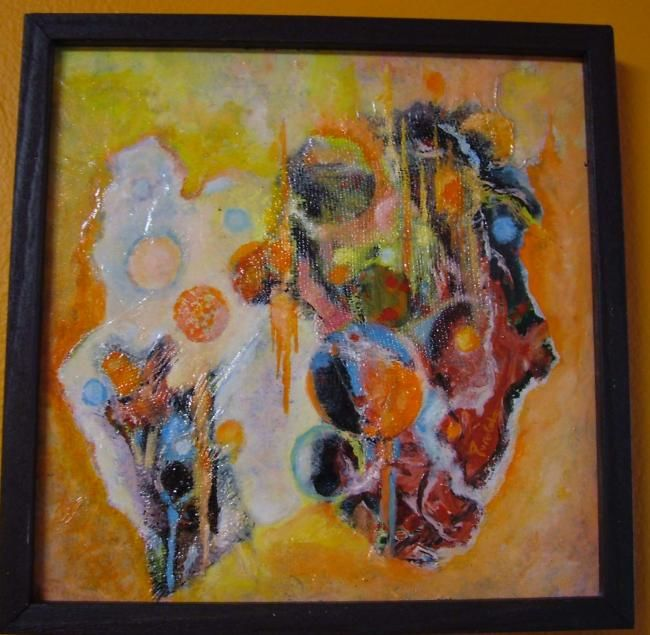 """Painting titled """"Mo"""" by Ales Posolda, Original Art, Oil"""