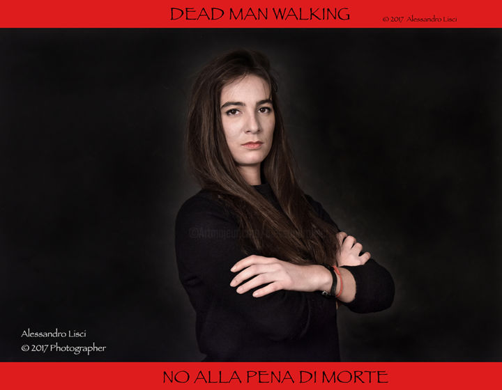 Cover of Project against Death Penality - Photography ©2016 by Alessandro Lisci -            Death Penality, Alessandro Lisci, Amnesty International, Comunità di Sant'Egidio, Cities for life, No pena di morte, dead man walking