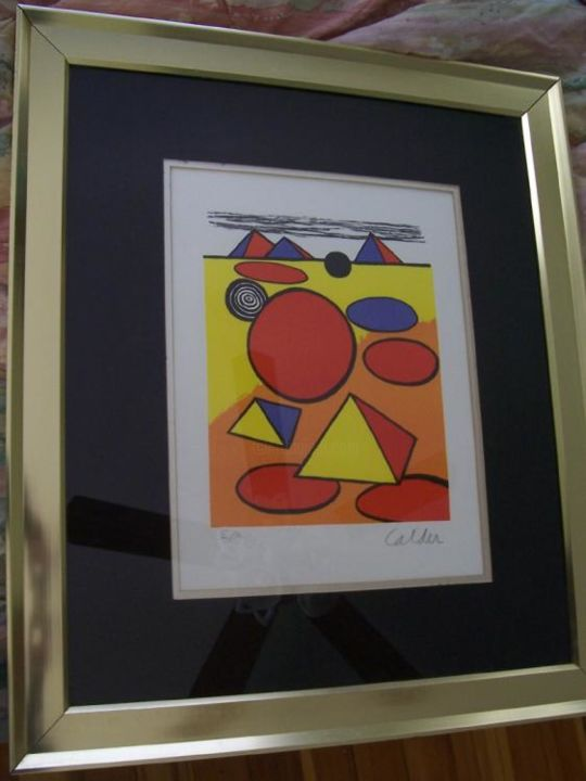Painting, artwork by Alexander Calder