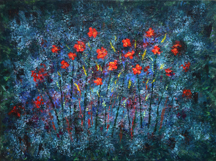 red flowers alexis baranek