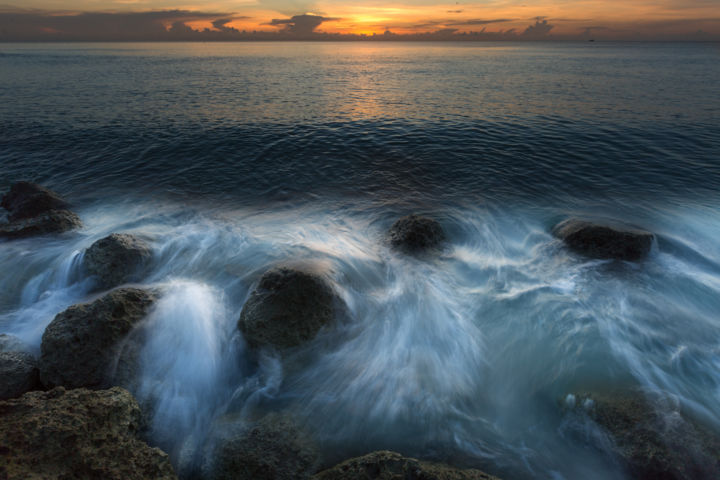"""Photography titled """"On the rock"""" by Alexyp, Original Art,"""