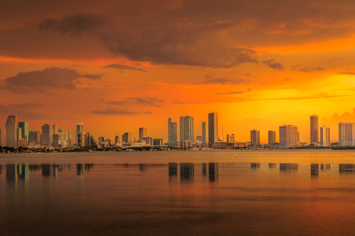 """Photography titled """"Miami"""" by Alexyp, Original Art,"""