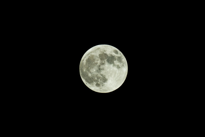 """Photography titled """"Supermoon"""" by Alexyp, Original Art,"""