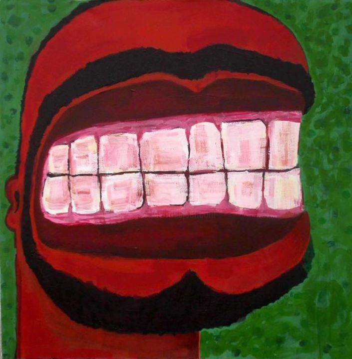 """Painting titled """"why are you angry w…"""" by Ali Chitsaz, Original Art,"""