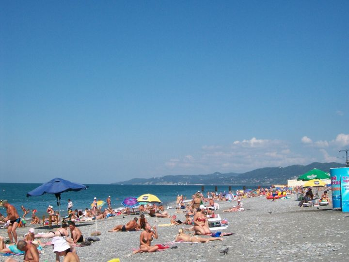 Sochi  Riviera beach Photography by ALLiANS | Artmajeur