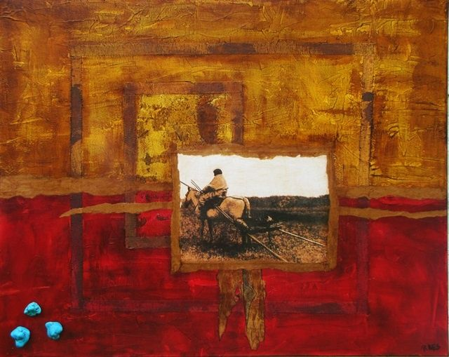 """Painting titled """"The Journey"""" by Rachel Knipp, Original Art, Oil"""