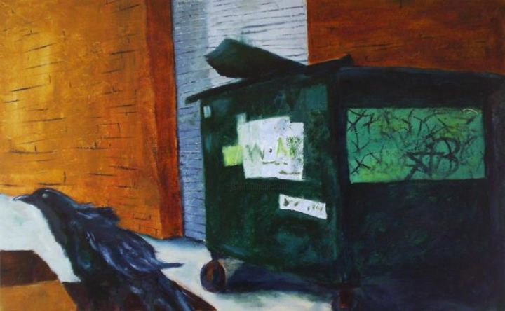 """Painting titled """"Leave the City to Me"""" by Amanda Butler, Original Art,"""