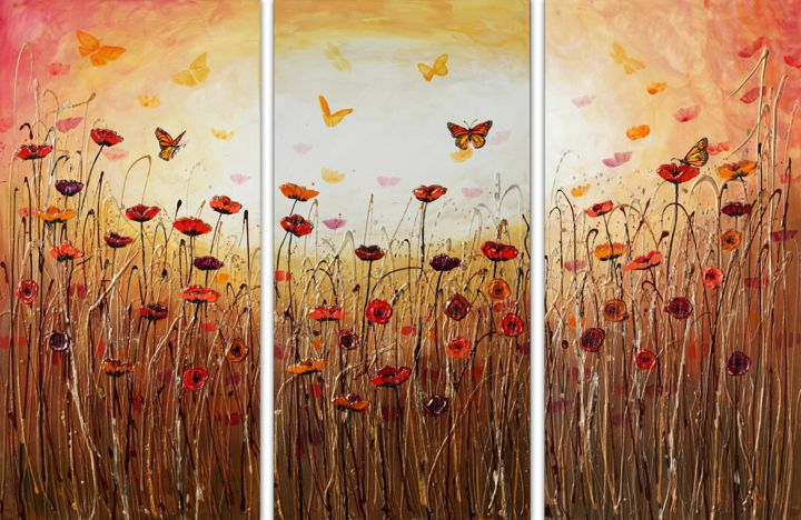 """Painting titled """"The Song of Nature"""" by Amanda Dagg, Original Art, Acrylic"""