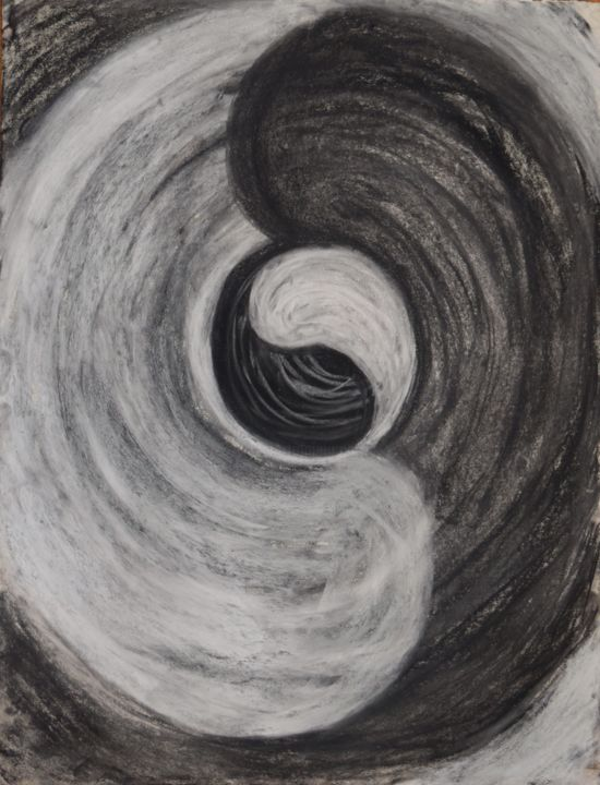 """Drawing titled """"Way of Life"""" by Amore Dilisio, Original Art, Pastel"""