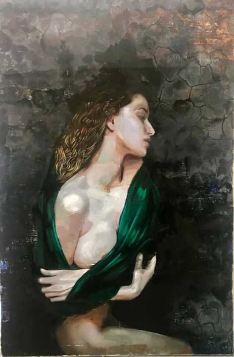 """Painting titled """"""""Oh, you look great…"""" by Ana Golovic, Original Art, Oil"""