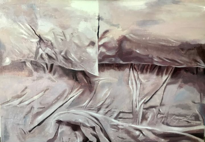 """Painting titled """"""""Emptiness"""""""" by Ana Golovic, Original Art, Oil"""