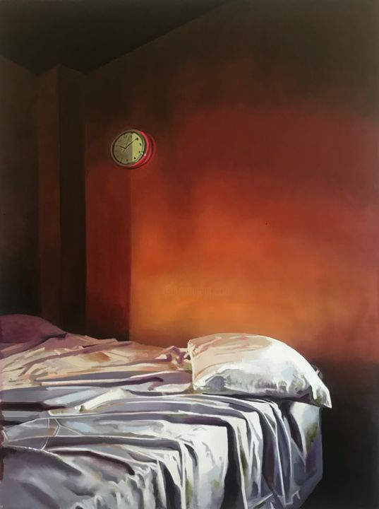 """Painting titled """"""""Sometimes even to…"""" by Ana Golovic, Original Art, Oil"""