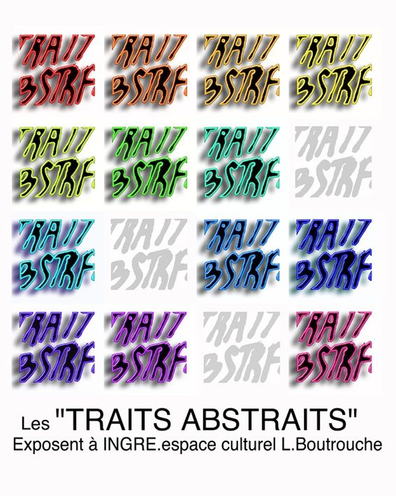 abstractions, 13artistes abstraits