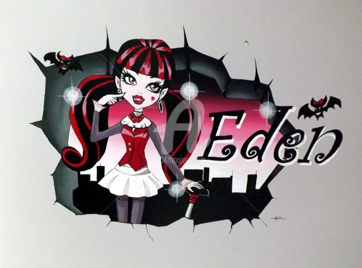 Free monster high with deco chambre monster high for Stickers monster high pour chambre